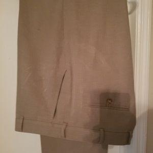 Men's dress pants, Perry Ellis, 38x32, beige